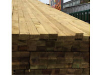 4.8mtr pressure treated 3x2 £6 each