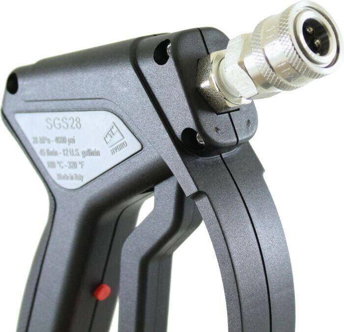 MTM Hydro Stainless Steel Pressure Washer Gun / Swivel / Stainless Fittings