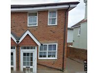 Modern unfurnished 2 bedroom house for rent central Newport Isle of Wight