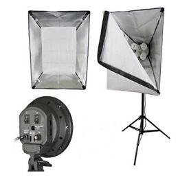 Photographic Studio Equipment (As New)