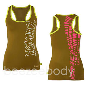 Zumba®Cut Me Crazy Racerback Tank Top.