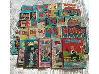 38 Children's Annuals - Beano, Dandy, Oor Wullie, Broons, etc