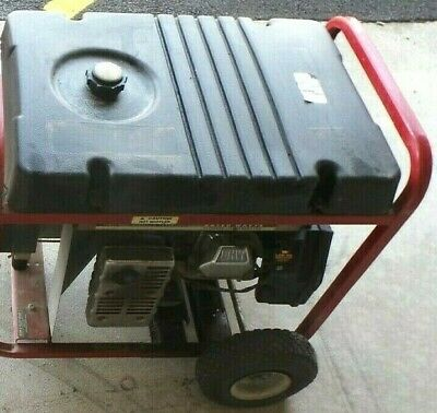 Generac 7000 Exl 7000 Watt Portable Ac Generator Electric Start 110447-1ctra15