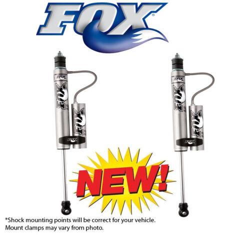 "Fox 2.0 Remote Reservoir Shocks Rear For 2-3"" Lift Kits 2005-16 Toyota Tacoma"