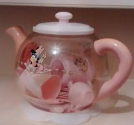 Minnie mouse tea pot set