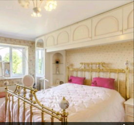 Brass Bed Surround Frame, Double 4'6