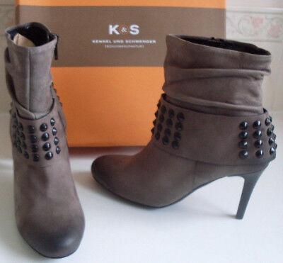 KENNEL SCHMENGER K&S Germany Ankle Boots Size EU 36.5 UK 3.5 US 6 RRP £255