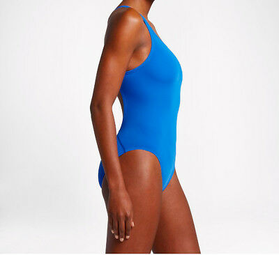 Nike Female Performance Swimsuit Blue Size 24 Brand New!