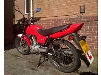 Honda CG125 For Sale - 2006 - Red