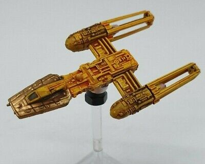 Star Wars X-Wing Miniatures Game Custom Painted Y-Wing (Gold Sqn) (979)