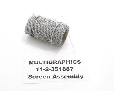 Multigraphics 11-2-351887 Screen Assembly - Prepaid Shipping M-11-2-351887