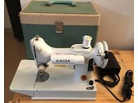 for sale singer sewing machine manual 221k