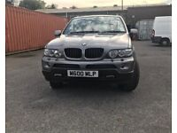 2005 BMW X5 E53 3.0 i Sport Automatic 5dr Low Mileage 12 Months MOT (Private Plate Included).