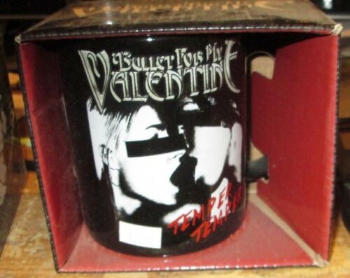 BULLET FOR MY VALENTINE MUG COLLECTABLE RARE VINTAGE  LICENSED NEW IN BOX