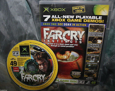 Official XBox Magazine Demo Disc #49 Oct 2005 NM Burnout Far Cry Instincts for sale  Shipping to India
