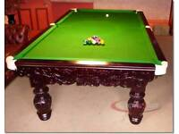 Snooky loopy snooker table