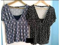 Maternity clothes bundle - tops and bottoms