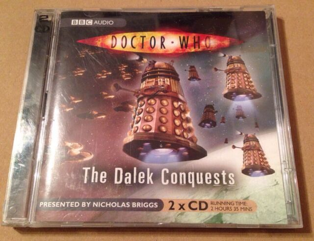 Doctor Who - The Dalek Conquests Audio Documentary Nicholas Briggs Huge Cast