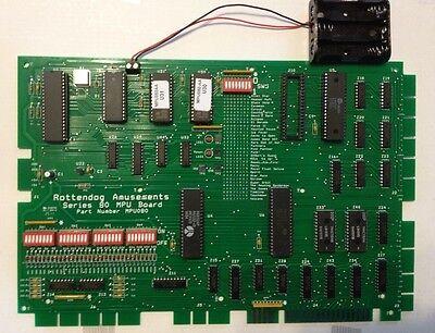 Brand New MPU080 MPU board for Gottlieb System 80 pinball machines