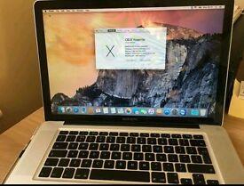 "Apple Macbook Pro 15"" 4gb ram 250gb hdd"