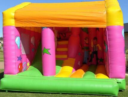 Party on Combo Bouncy Castle Jumping Castle Hire Port Kennedy Rockingham Area Preview