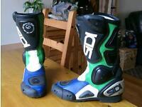 Motorcycle boots sidi vertebrae