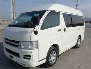 2010 Toyota Hiace 2WD automatic, LOW kms, HIGH roof, IDEAL FOR CAMPER!!! Yorklea Richmond Valley Preview