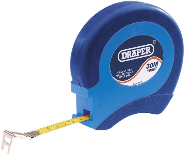 Draper 75302 30m 100ft long steel measuring tape
