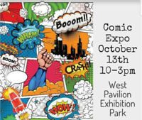 Comic, Cosplay & Pop Culture Expo for Lethbridge & Area