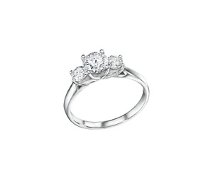 Glacier Fire Canadian Diamond Engagement Ring from Charm