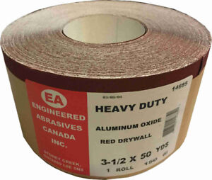 WOW! 50 Yds Red Drywall Sandpaper for $6.99 (6030 50 Street)