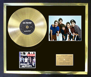 ONE-DIRECTION-MIDNIGHT-MEMORIES-PHOTO-CD-GOLD-DISC-FREE-POSTAGE