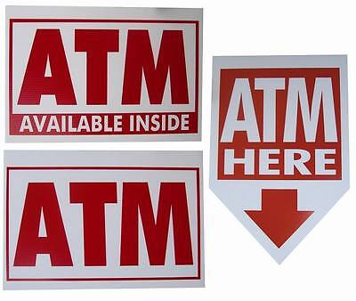 100 Atm Coroplast Signs 16x 24 2.00 Ea. Mix Match
