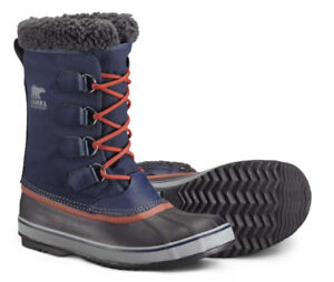 New Sorel 1964 Pac Nylon Winter Boots US8 caribou shoes cheyanne