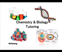 Chemistry and Biology Tutor