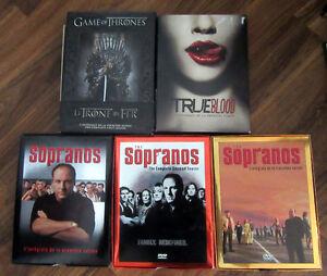 Dvd de séries