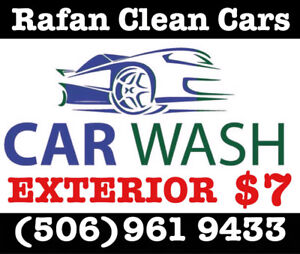 CAR WASH AND DETAILING SERVICE