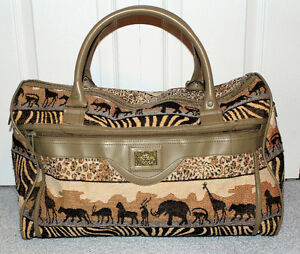 Pioneer Express African Safari Carry On Luggage Duffell Bag
