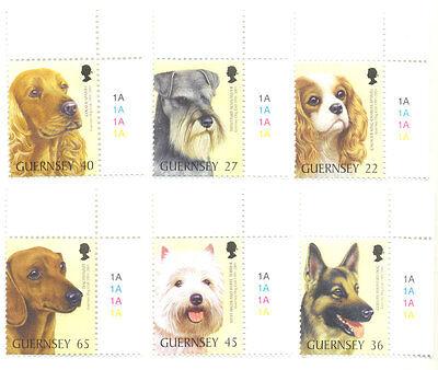 DOGS OF GUERNSEY DOG CLUB MNH SET