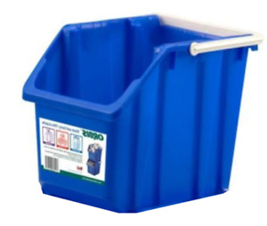 Garbage Bin / Recycling Blue-Stack  Carry-Bin ($12 for a pair)