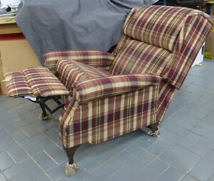 Fauteuil  inclinable   reclining  armchair