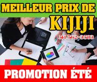 CONCEPTION DE SITE WEB - SITE INTERNET - MEILLEUR PRIX DE KIJIJ