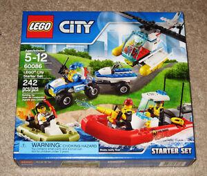 New LEGO CITY: City Starter Set 60086 (2015) Sealed Box