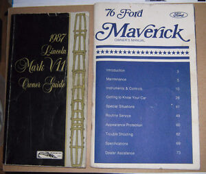 Owner's Manual Ford & Lincoln Guide