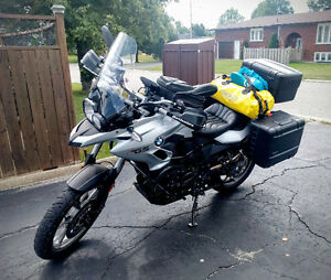 2013 Silver BMW F700GS w/ extras! PRICE REDUCED!