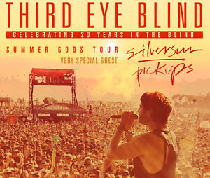 2 tickets for Third Eye Blind and Silversun pickups