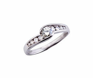 GLACIER FIRE CANADIAN DIAMOND .40CTW BRIDAL RING