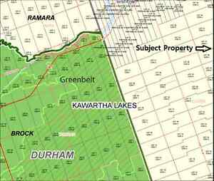 What? Only 39K for One Acre Residential Building Lot? Kawartha Lakes Peterborough Area image 2