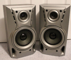"TEAC Wired Plug-In Speaker System, 20 Watts, 14"" High"