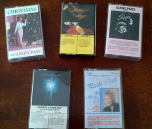 Female Singers Music Cassettes from 1950 - 2000